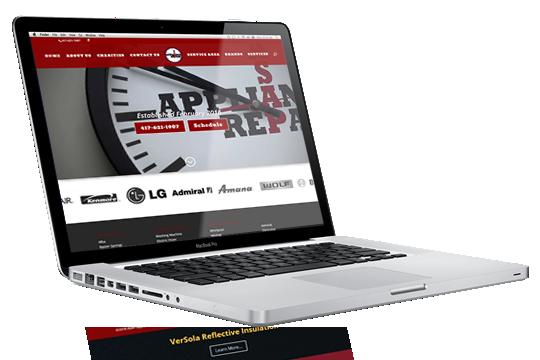 Website Design - ASAP Appliance Repair