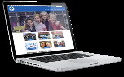 Joplin Private School Website Design