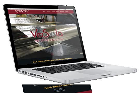 Website Design - Kennedy Insulation Group